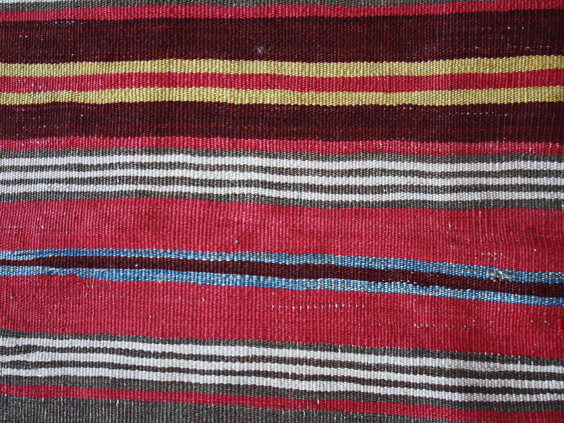 Anatolian stripes kilim fragment